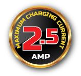 2.5amp badge